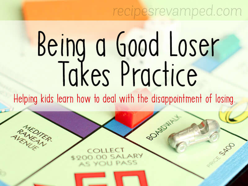 Being a Good Loser Takes Practice Recipe - Recipes Revamped