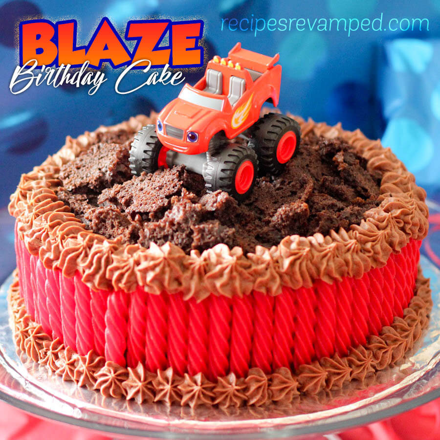 Blaze Birthday Cake Recipe - Recipes Revamped