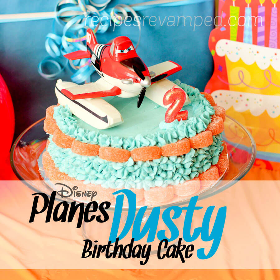 Disney Planes Dusty Birthday Cake Recipe - Recipes Revamped