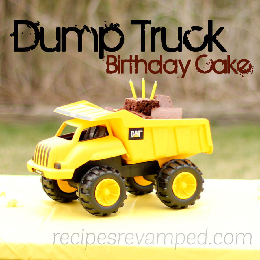 Yellow Dump Truck Birthday Cake Recipe - Recipes Revamped
