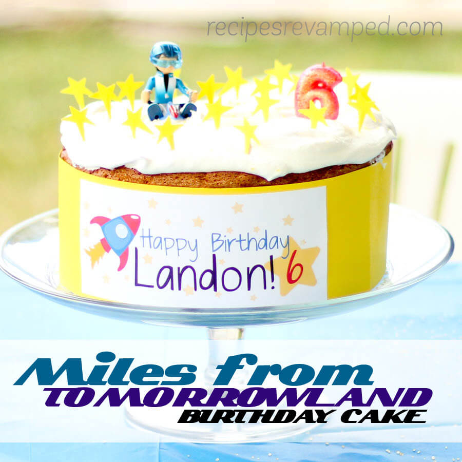 Miles From Tomorrowland Birthday Cake Recipe - Recipes Revamped
