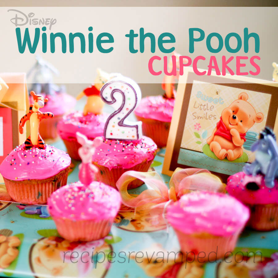 Winnie the Pooh Birthday Cupcakes Recipe - Recipes Revamped