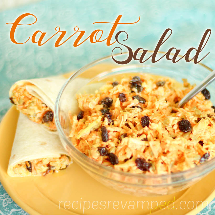 Carrot Salad Recipe - Recipes Revamped