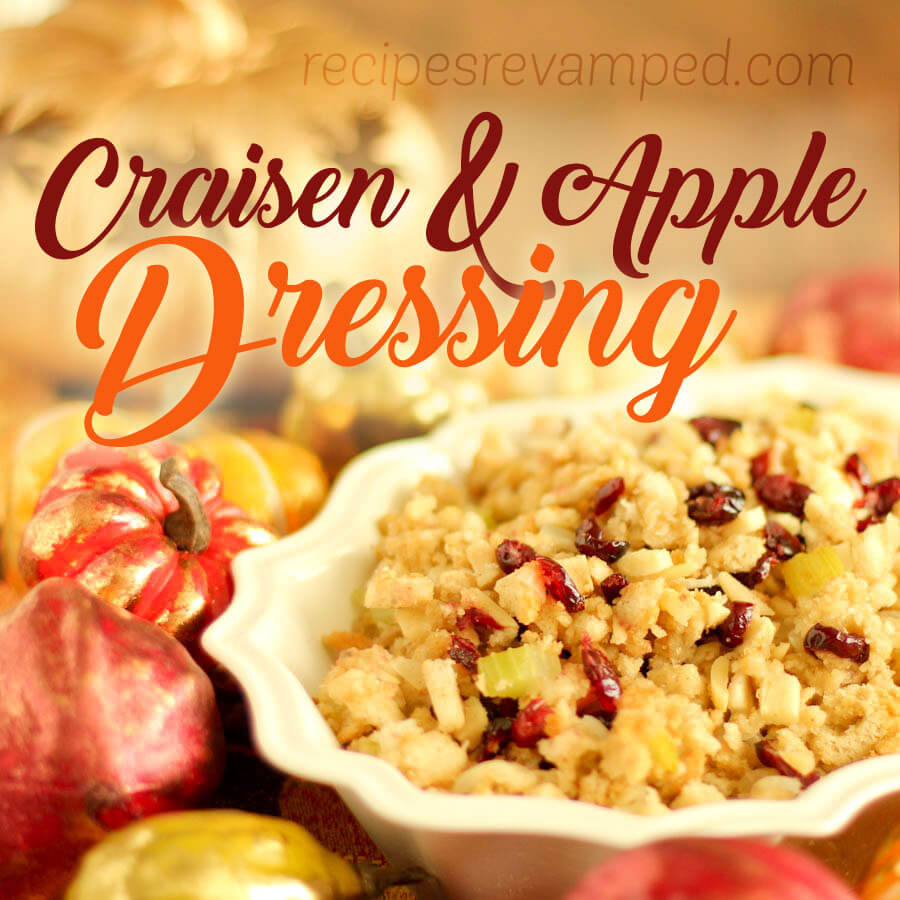 Craisen & Apple Dressing Recipe - Recipes Revamped