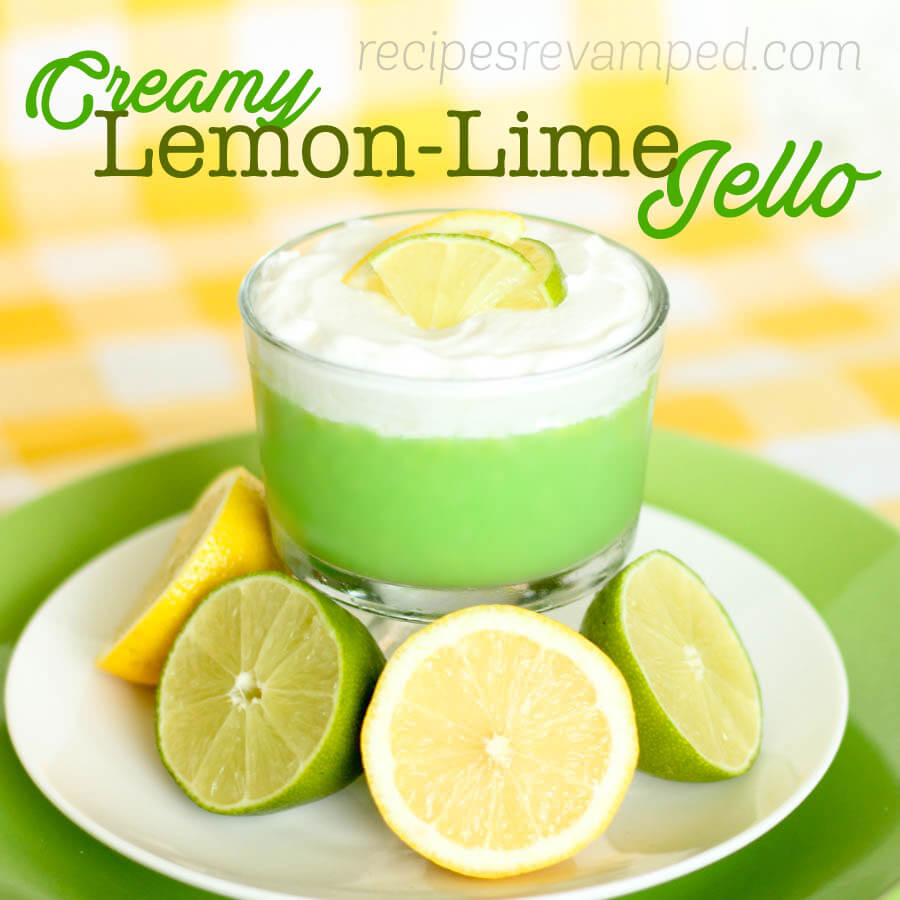 Creamy Lemon-Lime Jello