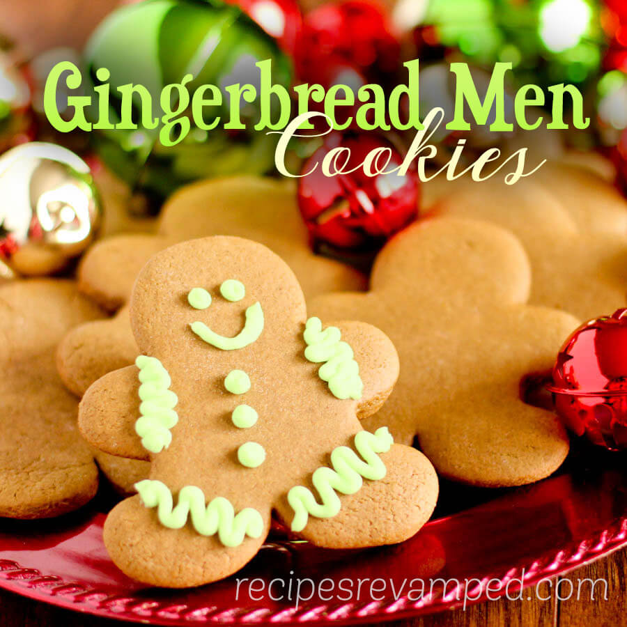 Gingerbread Men Cookies Recipe - Recipes Revamped