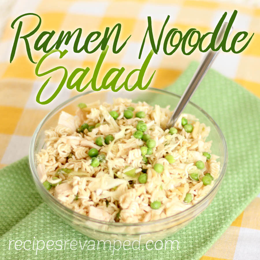 Ramen Noodle Salad Recipe - Recipes Revamped