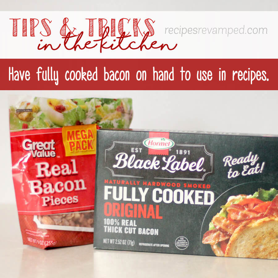 Have fully cooked bacon on hand Recipe - Recipes Revamped